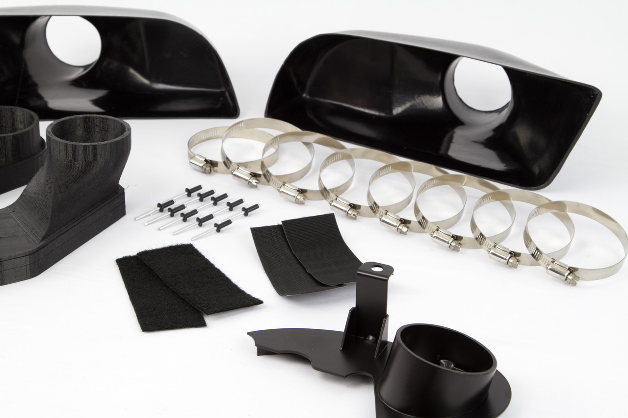 Brake Duct Inlets/ Foglight Deletes for BMW E9X M3 and HARDware Kit