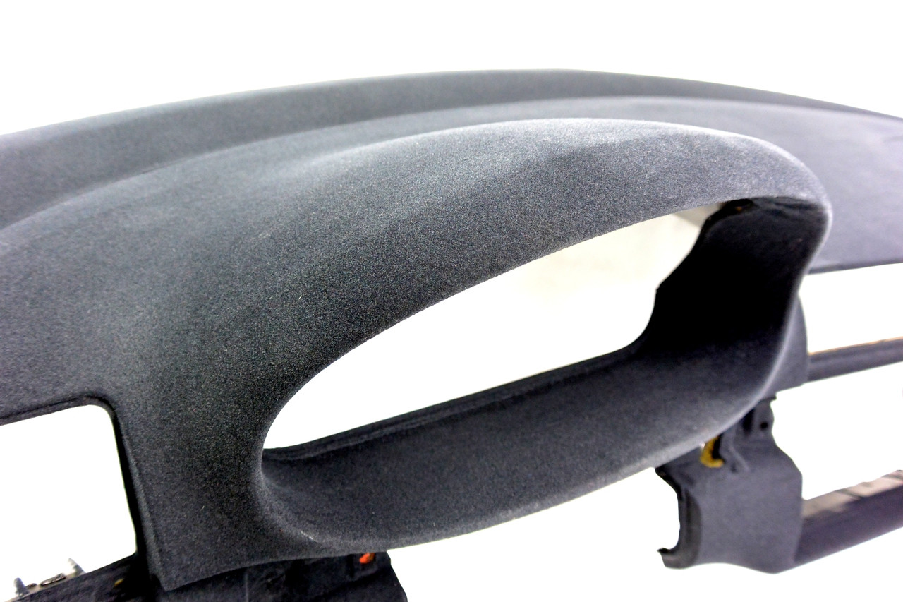Another angle of the HARD Motorsport Suede Anti-Glare Dash Flocking Kit in the  Matte Charcoal