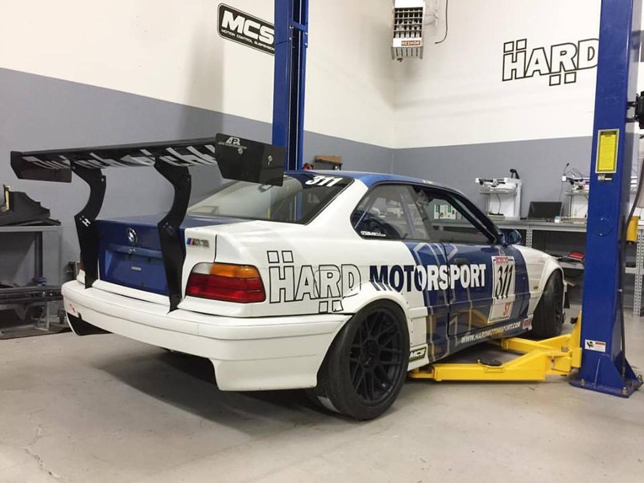 Hard Motorsport Bmw E36 Coupe Chassis Mount Spoiler Upright Kit Hard Motorsport