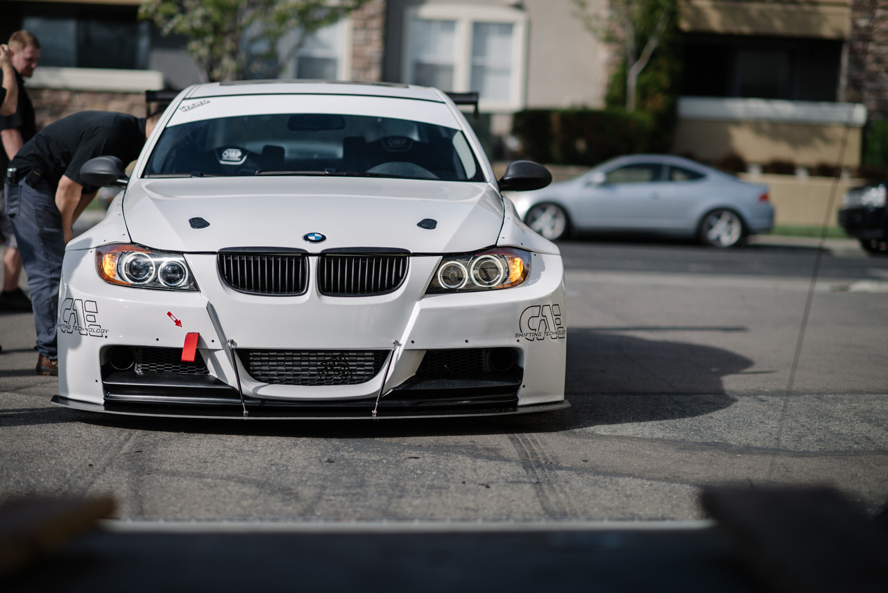 #BMWE90WidebodyKit on @HARDMotorsport Project Leichtbau E90