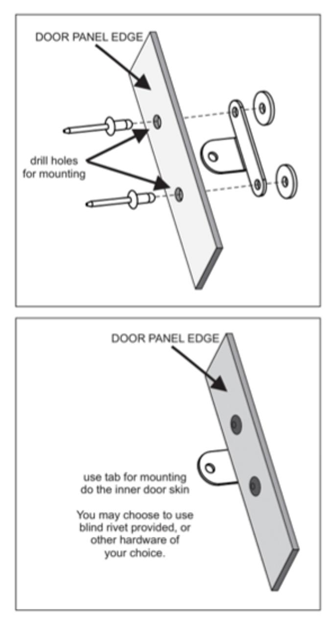 Door Panel Hardware Included with Door Panels