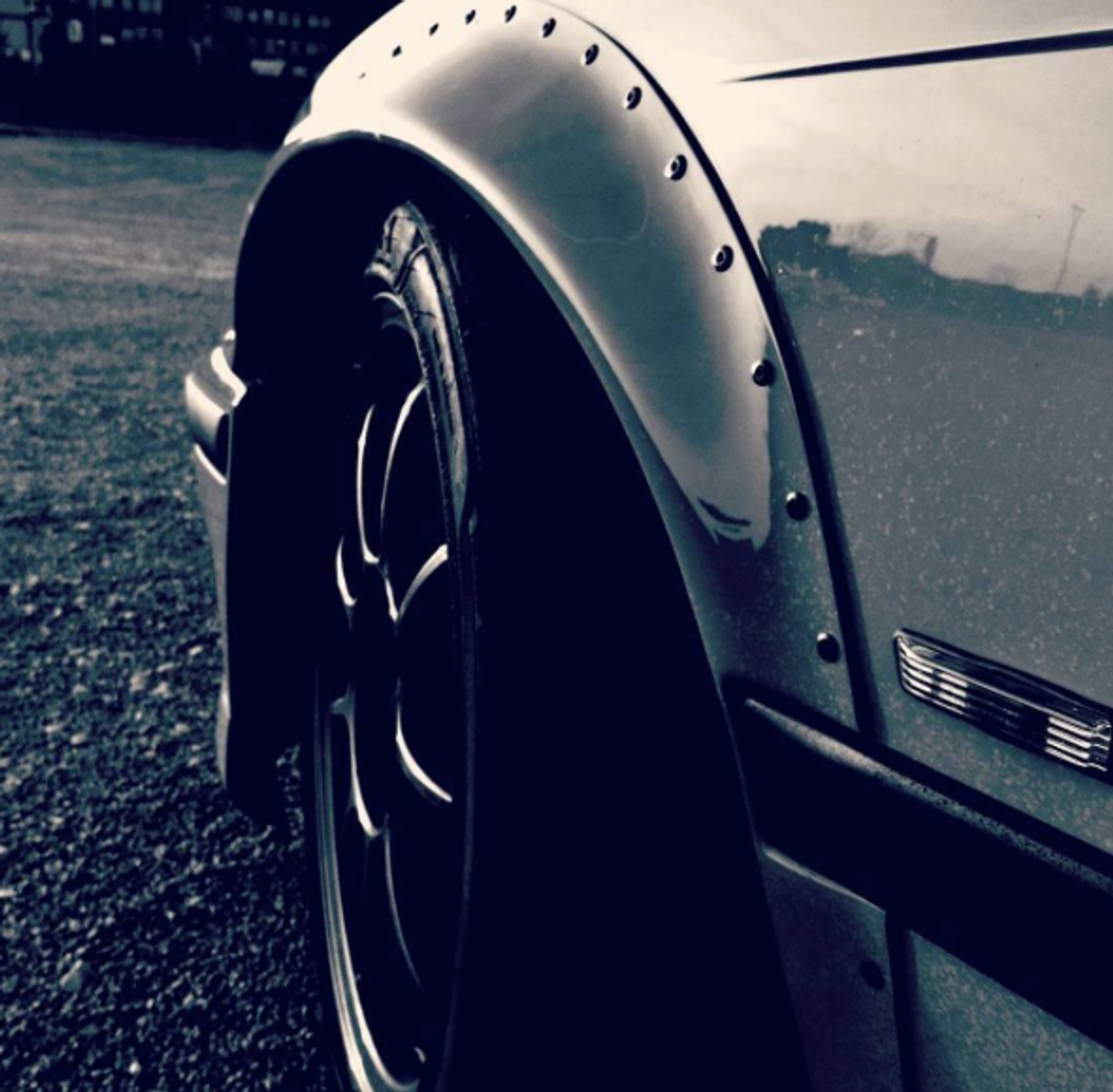 Instagram: Cool shot of our Fender Flares on @kinezool's E36!