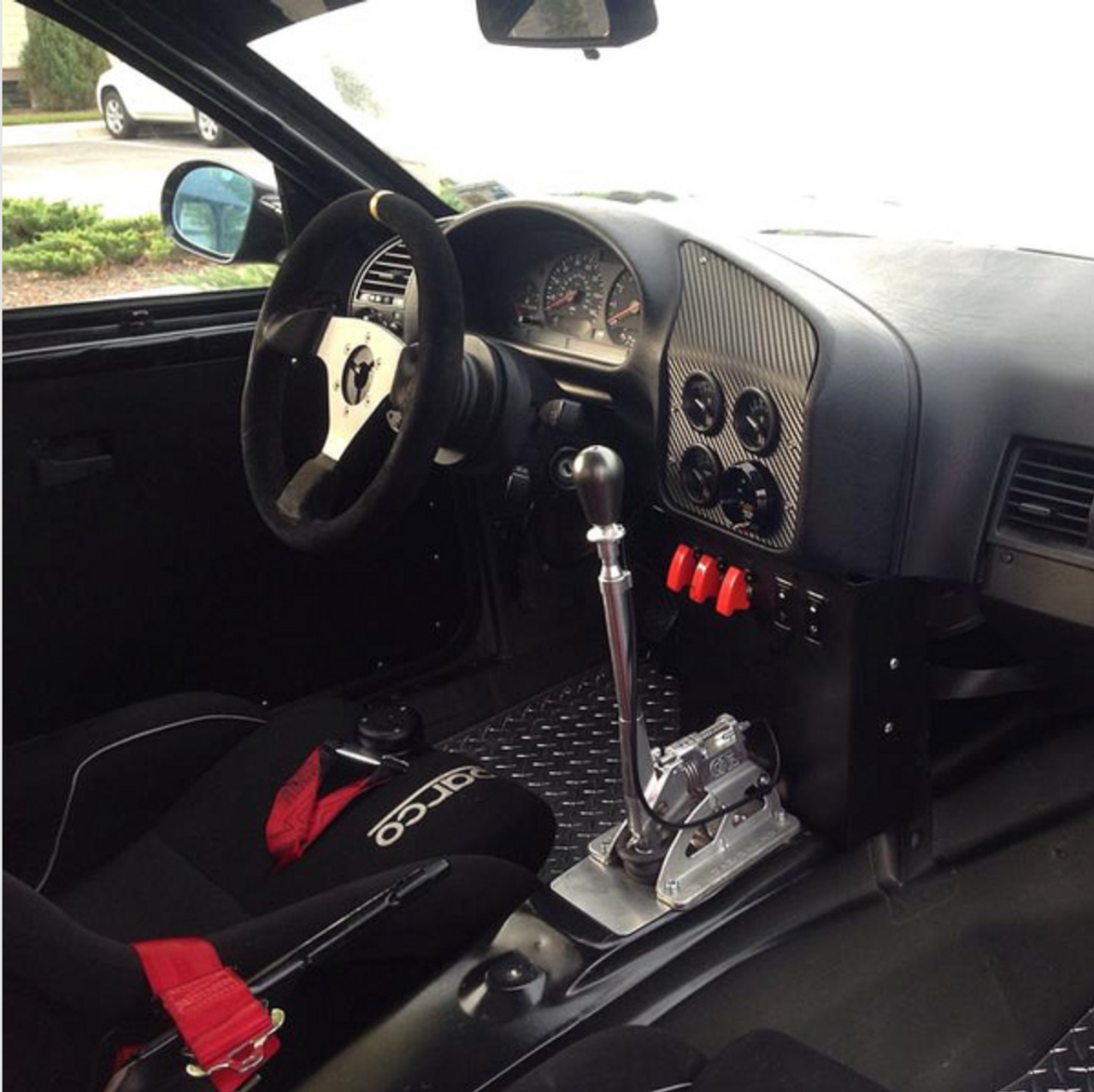 CAE 10023 Shifter Installed in a E36 M3