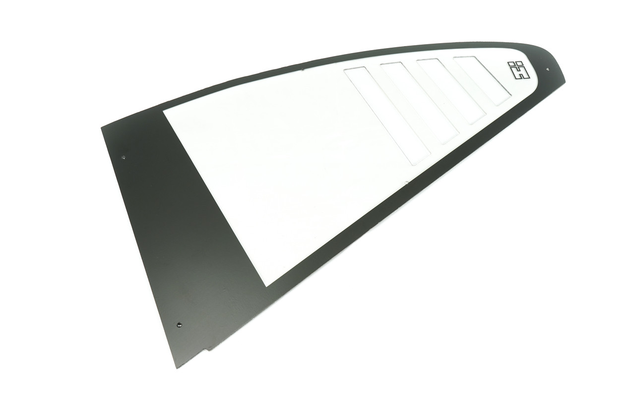 BMW E46 Coupe RS Style Polycarbonate Rear Windows. Sold as a Pair
