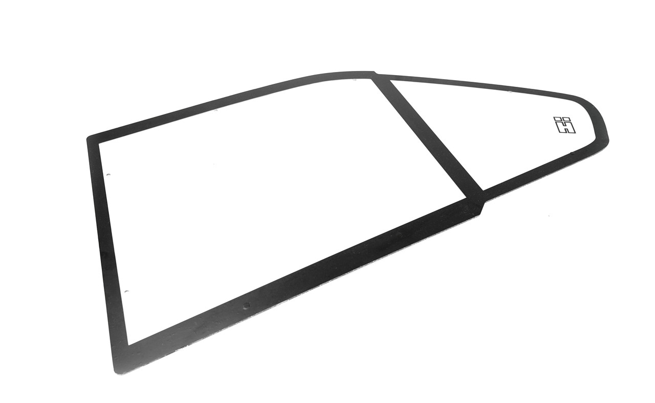 BMW E36 Sedan Polycarbonate Rear Windows. Sold as a Pair