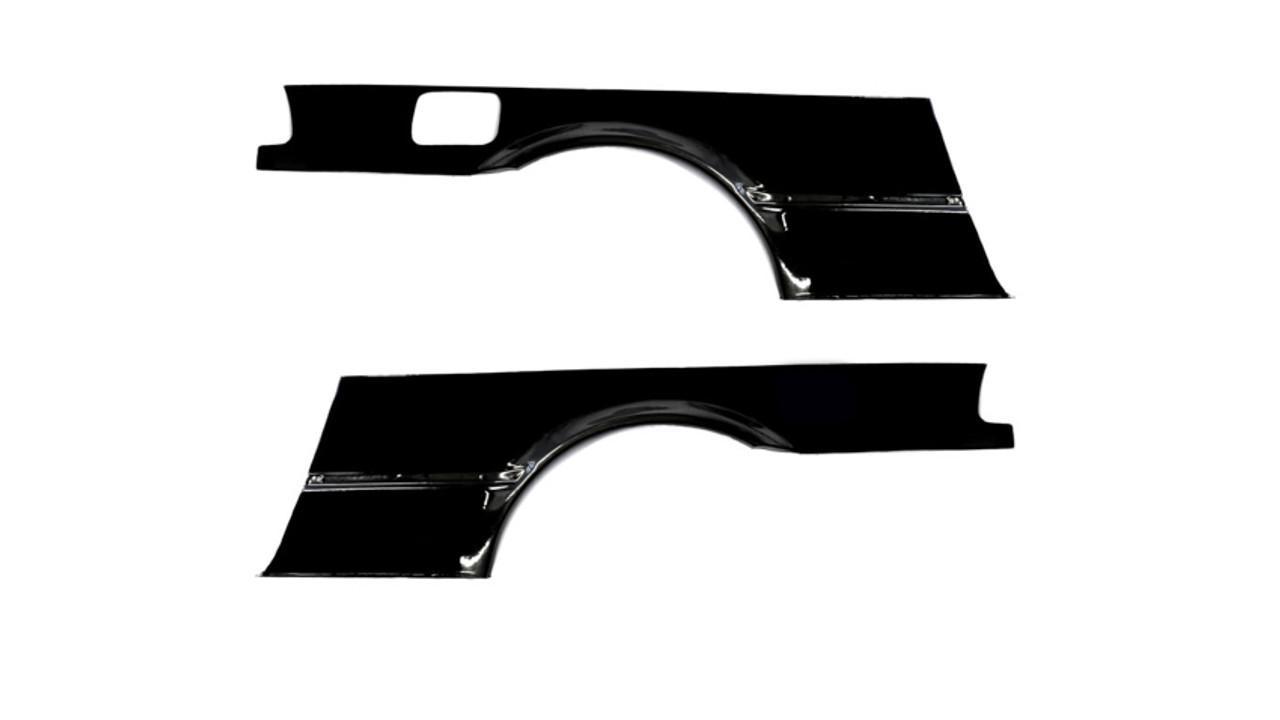 HARD Motorsport Wide Rear Quarter Over Fenders - BMW E36 Coupe