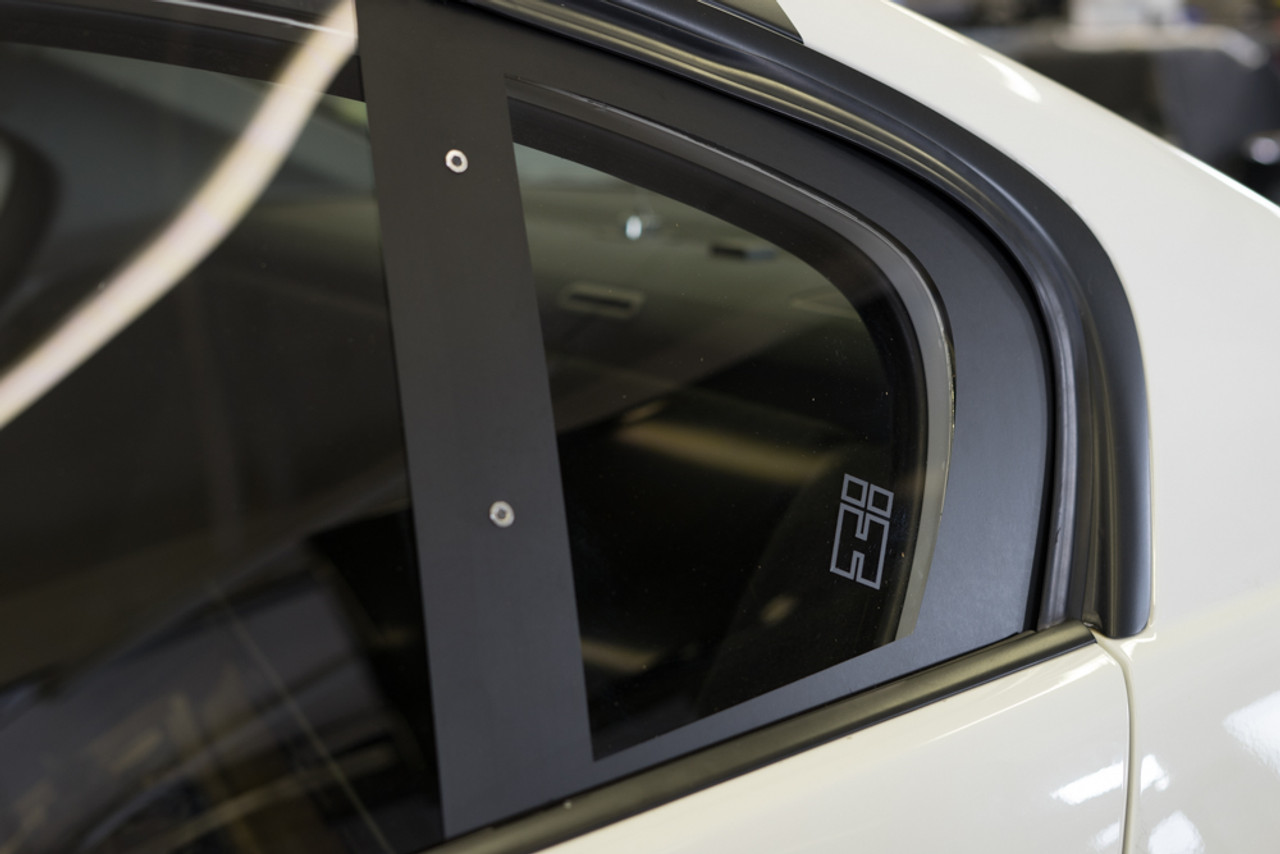 HARD Motorsport BMW E9X - Polycarbonate Rear WindowsInstalled on our E90