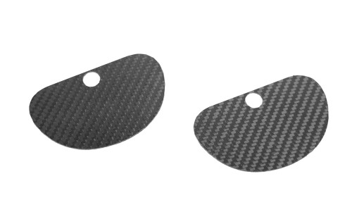 Hard Motorsport - Carbon Fiber Seatbelt delete Plates for BMW F22 - Come as a Pair