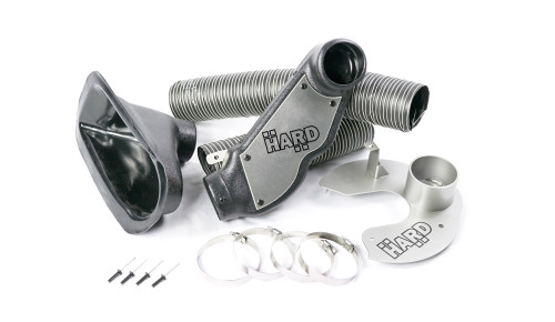 HARD Motorsport - BMW E46 M3  Brake Cooling Duct Kit Images for referance ony and do not represent customized configuration