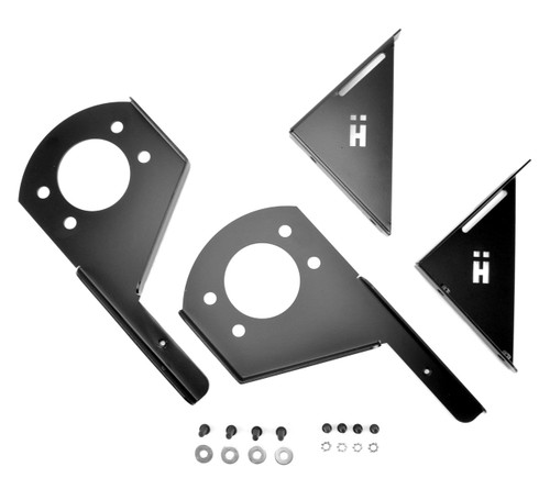 BMW E36 M3 Splitter Mounting Bracket Set with hardware