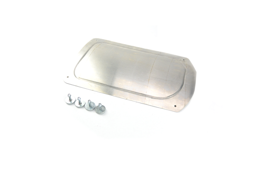 Rear Side of the BMW E46 Firewall Block-Off Plate