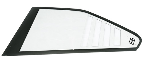 E36 RS Style Rear Polycarbonate Window with HARD Motorsport logo SOLD IN PAIRS