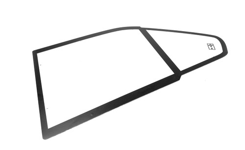 BMW E36 Sedan Polycarbonate Rear Windows. Sold as a Pair