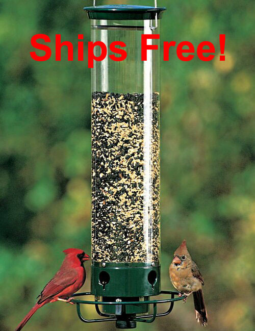 Ships Free! Droll Yankees Yankee Flipper Squirrel Proof Bird Feeder