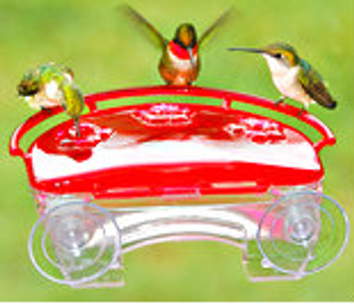 Aspects 407 Jewel Box Window Hummingbird Feeder