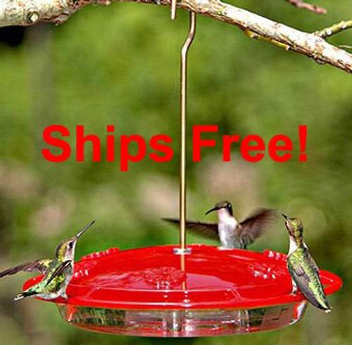 Ships Free! Aspects 143 Hummzinger Excel Hummingbird feeder