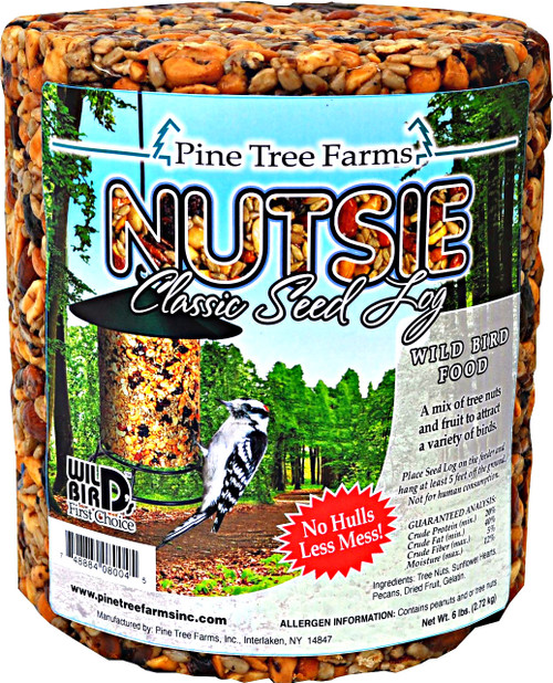 Pine Tree Farms Nutsie Seed Log