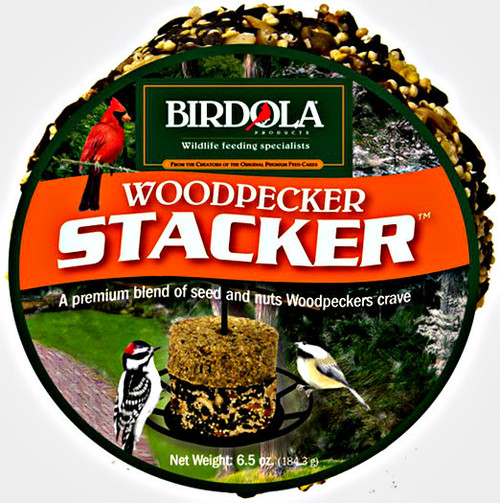 Birdola Woodpecker Stacker