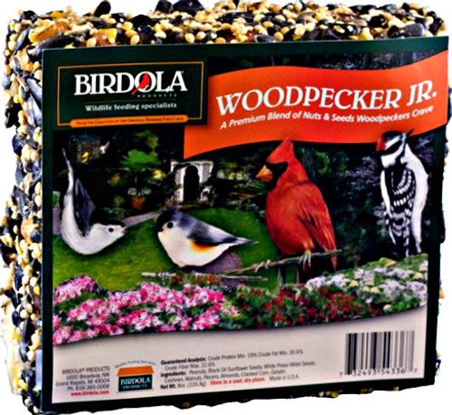 Birdola Woodpecker Junior Cake 8Pk