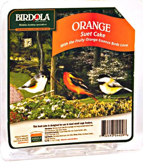 Birdola Orange Suet Cake 12Pk