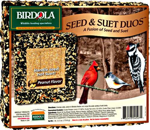 Birdola Peanut Duo Seed Cake 8Pk