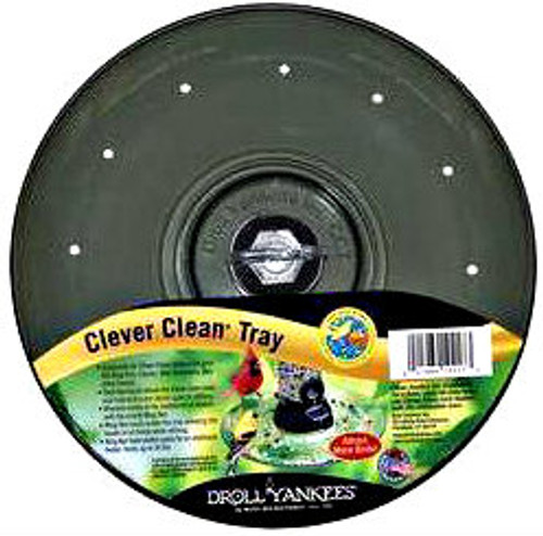 Droll Yankees Clever Clean Tray - Smoke