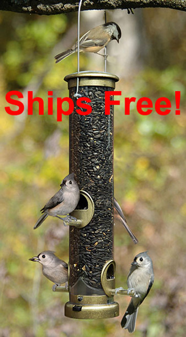 Ships Free! Aspects 395 Quick Clean Medium Seed Tube feeder