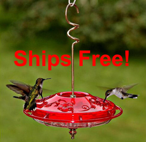 Ships Free! Aspects 381 Hummzinger Fancy Hummingbird feeder