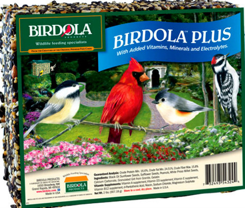 Birdola Plus Seed Cake 8 Pk