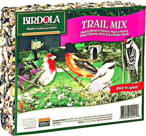 Birdola Trail Mix Seed Cake 8Pk