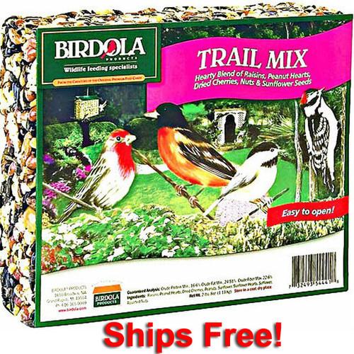 Birdola Trail Mix Seed Cake