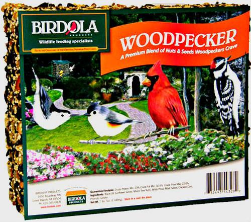 Birdola Woodpecker Seed Cake 8Pk