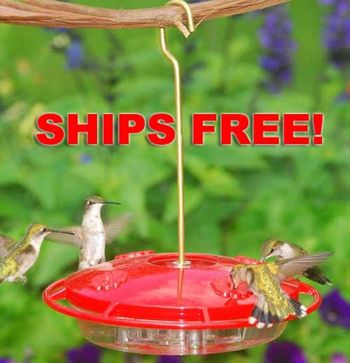 Ships Free! Aspects 367 Hummzinger Ultra Hummingbird Feeder