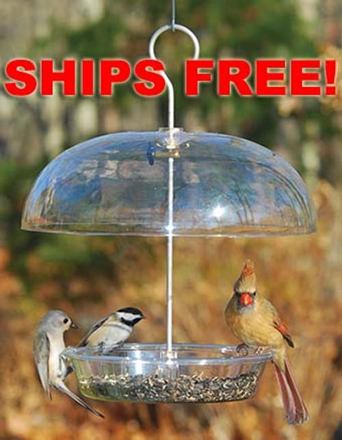 Ships Free! Aspects Vista Dome 278 Birdfeeder