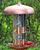 Perky-Pet® Copper Finish Triple Tube Bird Feeder 7103-2