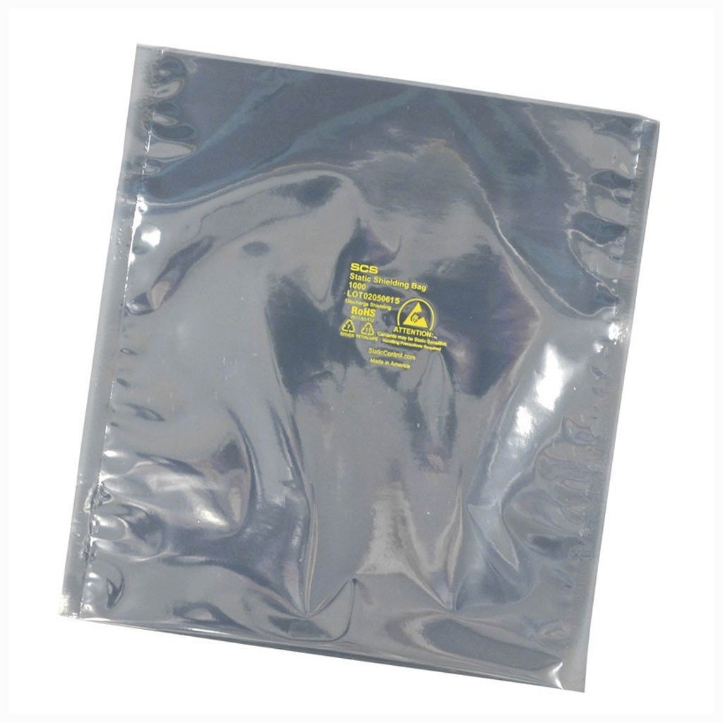 "1001218 |  Metal-In Static Shielding Bag, Open-Top, 1000 Series, 12""x18"" - 100/PK"