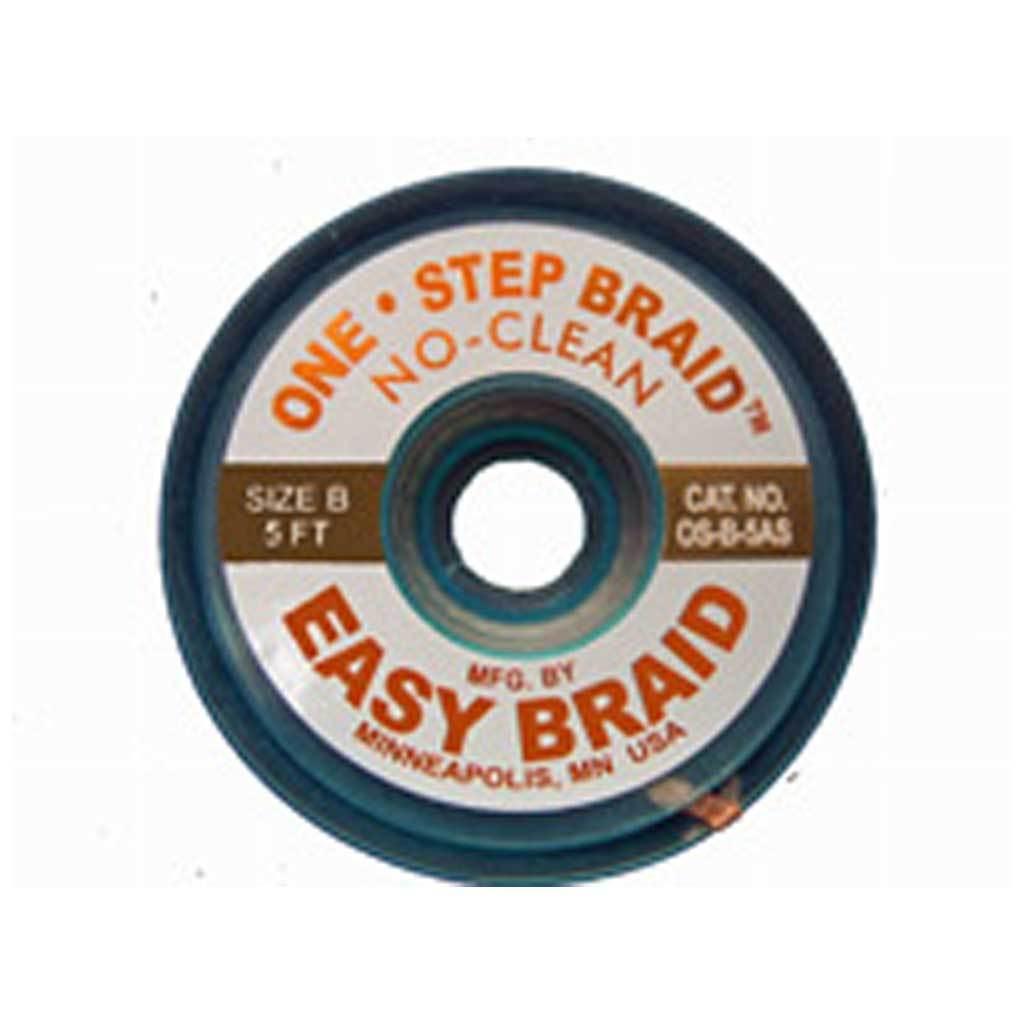 EasyBraid OS-B-5AS  |  One-Step No Clean Desoldering Braid