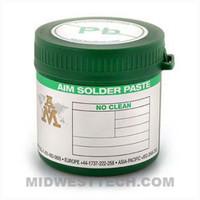 AIM Solder 89268 |  SAC305 Lead Free, M8 NoClean Solder Paste, T4 - 500g Jar