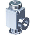 XLH, High Vacuum Manual Angle Valve, Bellows Seal