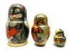 Bunny, Squirrel and Mouse Matryoshka Doll