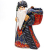 Grandfather Frost with Gifts and Dark Blue Coat