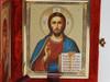 Christ and the  Virgin of Kazan Diptych Matthew 11:28