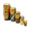 Gorbachev and State Emblem Matryoshka Doll