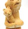 Mother Bear and Cub (Мать и Медвежонок) Bogorodsk Carving Close up