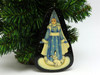 Russian Painted Christmas Ornament *Snow Maiden [9]