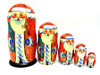 Fancy Sergiev Posad Grandfather Frost Matryoshka