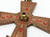 Primitive POW Camp Orthodox Priest's Cross