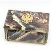 Imperial Russian Eagle Coat of Arms Marble Jewelry Box