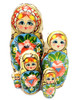 "Summer ""Potal"" Artistic Matryoshka Doll"