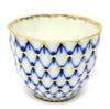 Cobalt Net Handleless Cup